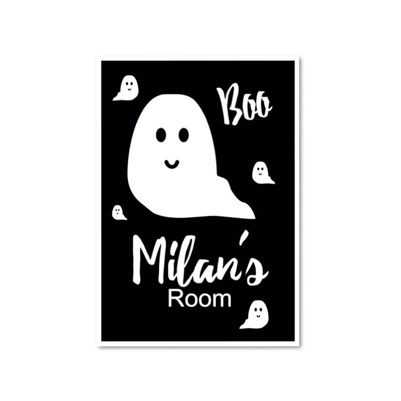 Ghost name poster