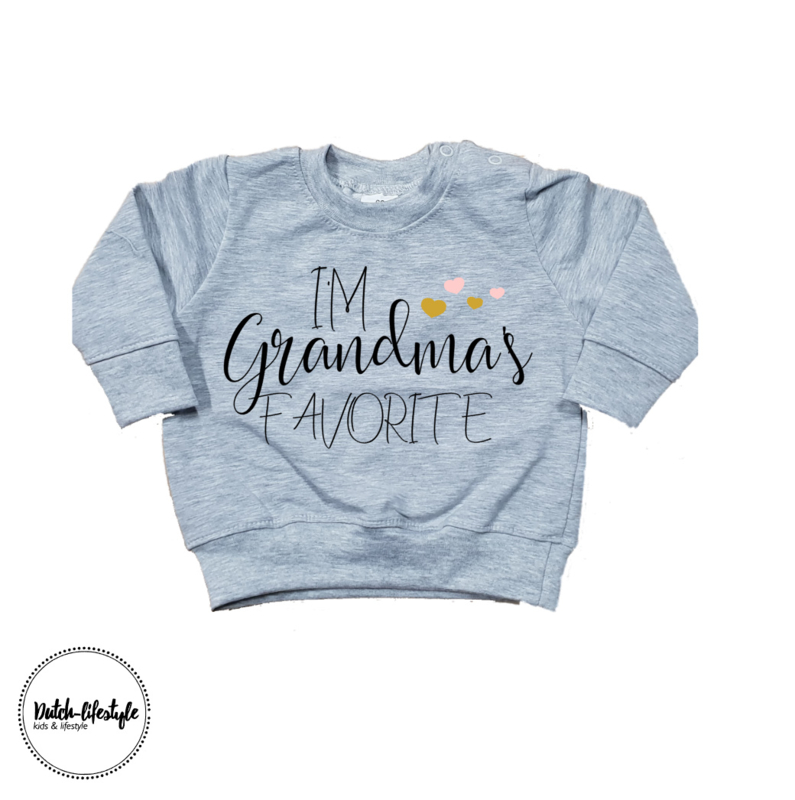 Grandma sweater grey
