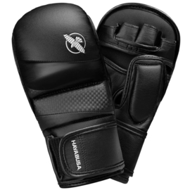 Hayabusa T3 Hybrid Gloves 7 oz - Black