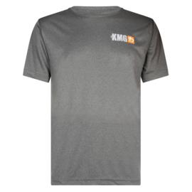 KMG T-shirt - dry-fit - dark grey