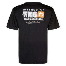 KMG Instructor T-shirt - dry-fit - black