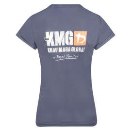adidas Climalite - KMG T-shirt - women - dark grey