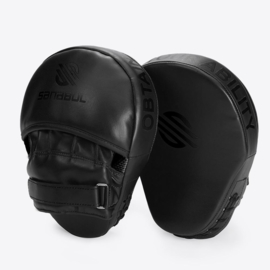 Sanabul Essential Curved Punch Mitts - zwart