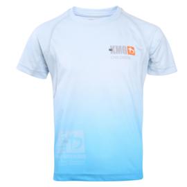 KMG Performance T-shirt - Sublimatiedruk - Children 5-7 jaar - Lichtblauw - Unisex