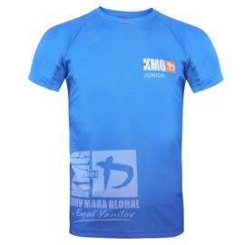 KMG Performance T-shirt - Sublimatiedruk - Junior 11-13 jaar - Koningsblauw - Unisex