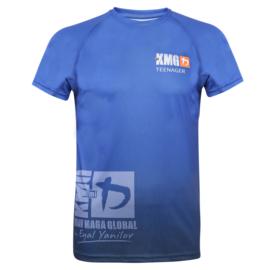 KMG Performance T-shirt - Sublimatiedruk - Teenager 14-16 jaar - Dark Navy - Heren