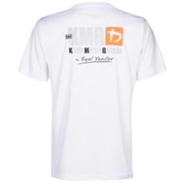 KMG T-shirt - dry-fit - white