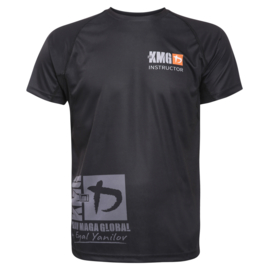 KMG Performance T-shirt - Sublimatiedruk - Instructor - Zwart - Heren
