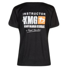 KMG Instructor T-shirt - dry-fit - black - ladies