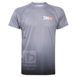 KMG Performance T-shirt - Sublimatiedruk - G Levels - Donkergrijs - Heren
