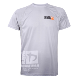 KMG Performance T-shirt - Sublimatiedruk - P3/P4/P5 - Lichtgrijs - Heren