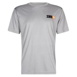 KMG T-shirt - dry-fit - light grey