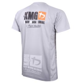 KMG Performance T-shirt - Sublimatiedruk - P3/P4/P5 - Lichtgrijs - Heren
