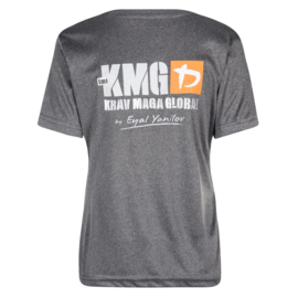 KMG T-shirt - dry-fit - dark grey - ladies
