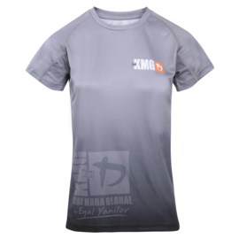 KMG Performance T-shirt - Sublimatiedruk - G Levels - Donkergrijs - Dames