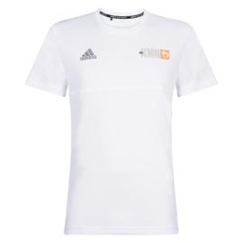 adidas Climalite - KMG T-shirt - white