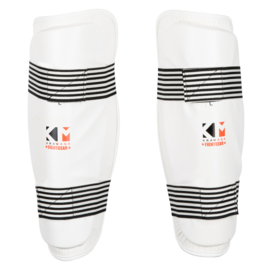Krav Maga Fightgear Shinguards - white