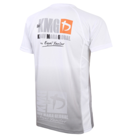 KMG Performance T-shirt - Sublimatiedruk - Beginner/P1/P2 - Wit - Heren