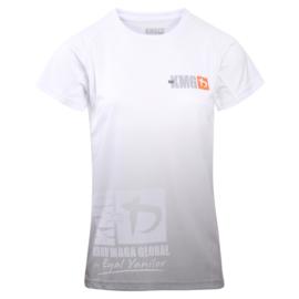 KMG Performance T-shirt - Sublimatiedruk - Beginner/P1/P2 - Wit - Dames