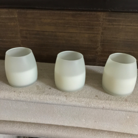 Soft Glow kaarsen wit