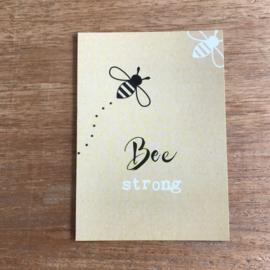 Kaart K18 Bee strong