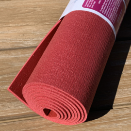 Yoga mat studio premium 4,5 mm Donkerrood
