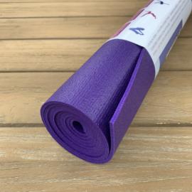 Yoga mat studiomat premium Paars