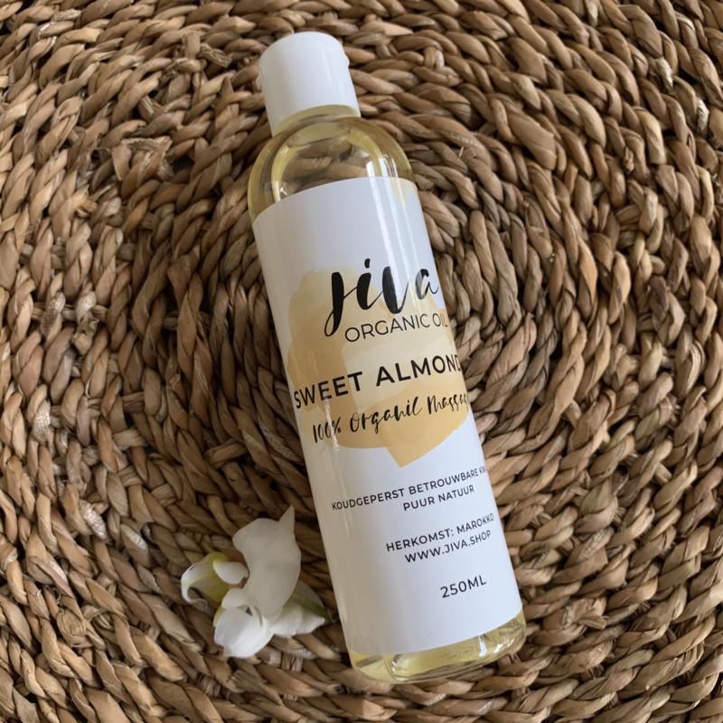 Jiva organic SWEET ALMOND oil 250 ml