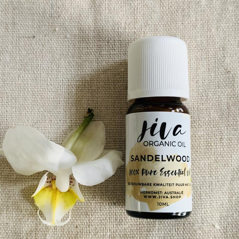 Jiva organic SANDELWOOD oil