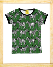 Duns t-shirt Zebra  swamp green