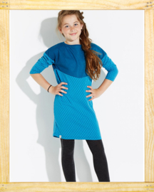 Alba Louise dress Bluejay
