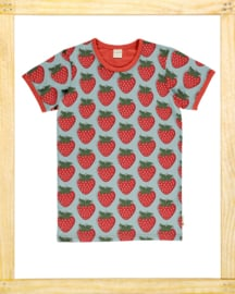 Maxomorra T-shirt Strawberry ADULT