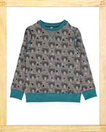 Maxomorra sweatshirt Grizzly Bear
