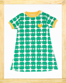 Alba Vida Dress Alpine green Animal