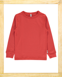 Maxomorra longsleeve Rusty Red