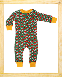 Duns zippersuit Radish dark green
