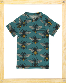Maxomorra V-neck shirt Bee