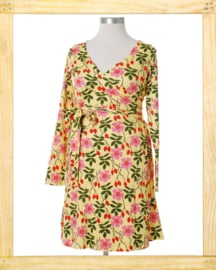 Duns wrapdress Rosehip
