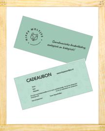 Cadeaubon HippeWolfjes € 10,00