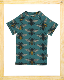Maxomorra t-shirt slimfit Bee