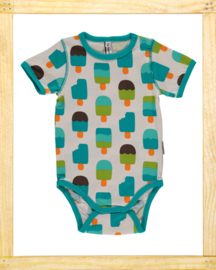 Maxomorra romper Ice Cream white