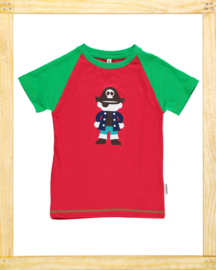 Maxomorra t-shirt Pirate red