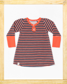 Alba baby dress Caris Striped