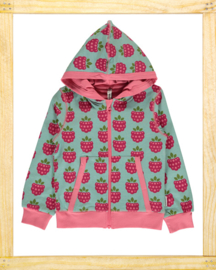 Maxomorra vest Raspberry