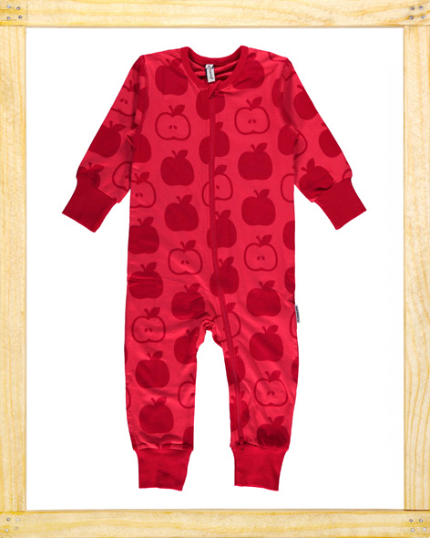 Maxomorra zippersuit Apple