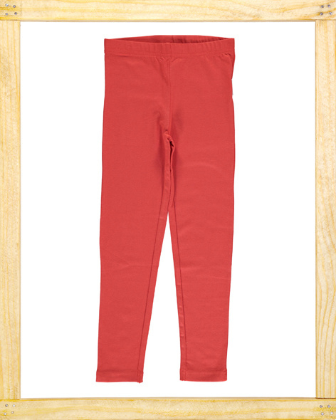 Maxomorra legging Rusty Red