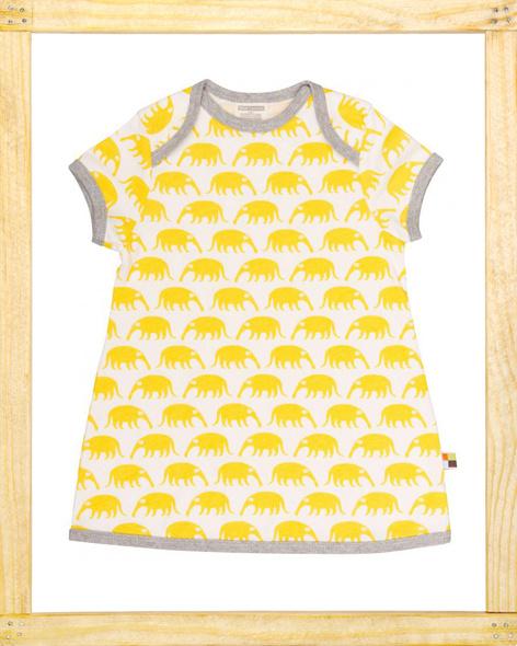 Loud&Proud jurk Miereneter geel