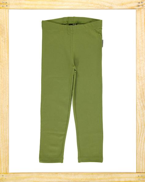 Maxomorra legging Apple Green cropped