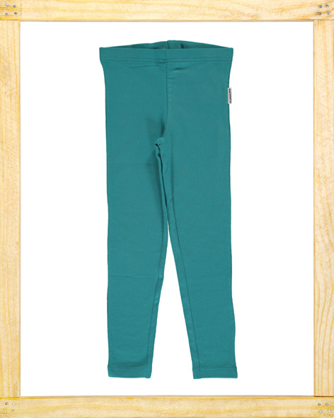 Maxomorra legging Soft Petrol