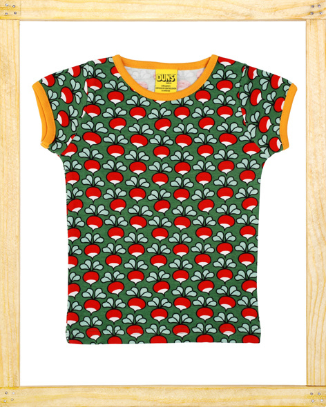 Duns t-shirt Radish green